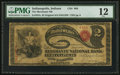 Indianapolis, IN - $2 Original Fr. 387a The Merchants NB Ch. # 869