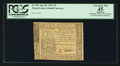 Colonial Notes:Pennsylvania, Pennsylvania April 20, 1781 15s PCGS Apparent Extremely Fine 45.. ...