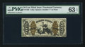 Fractional Currency:Third Issue, Fr. 1368 50¢ Third Issue Justice PMG Choice Uncirculated 63 EPQ.. ...