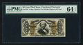 Fractional Currency:Third Issue, Fr. 1335 50¢ Third Issue Spinner PMG Choice Uncirculated 64 EPQ.. ...