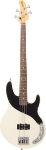 Musical Instruments:Bass Guitars, 1988 Robin Freedom Bass White Electric Bass Guitar, Serial #10858....