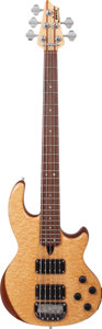Musical Instruments:Bass Guitars, 1993 Wal MkII Natural Electric Bass Guitar, Serial # W3762....