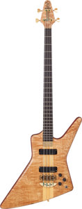 Musical Instruments:Bass Guitars, 1999 Alembic Exploiter Natural Electric Bass Guitar, Serial # 99 K11964....