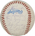 Autographs:Baseballs, 1983 Chicago White Sox Team Signed Baseball. The AL West winners ofthe 1983 season are represented here by a collection of...