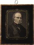 Political:3D & Other Display (pre-1896), Henry Clay: A Beautiful 1848 Campaign Hanging Wall Plaque....