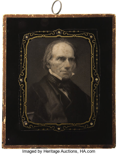 Political Other Display Pre 1896 Henry Clay A