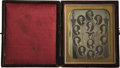 Photography:Daguerreotypes, Zachary Taylor: A Spectacular, Pristine Daguerreotype of a PrintShowing the Presidents Up Through Incumbent Taylor....