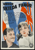 "Movie Posters:Adventure, Under Two Flags (20th Century Fox, 1936). Swedish One Sheet (27"" X39.25""). Adventure. ..."