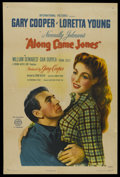 """Movie Posters:Western, Along Came Jones (RKO, 1945). One Sheet (27"""" X 41"""") Style A. Western. ..."""