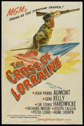 """Movie Posters:War, The Cross of Lorraine (MGM, 1943). One Sheet (27"""" X 41""""). War. ..."""