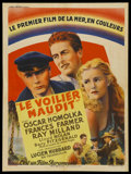 "Movie Posters:Adventure, Ebb Tide (Paramount, 1937). French Petite (23.5"" X 31.5"").Adventure...."