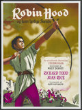 "Movie Posters:Adventure, The Story of Robin Hood (RKO, 1952). Danish One Sheet (24.5"" X33.4""). Adventure. ..."