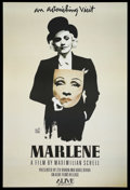"Movie Posters:Documentary, Marlene (Alive Films, 1984). One Sheet (26"" X 37.75""). Documentary. ..."