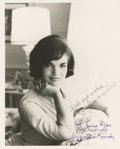 Autographs:U.S. Presidents, Jacqueline Kennedy Inscribed Signed Photograph...