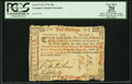 Colonial Notes:Georgia, Georgia 1776 10s PCGS Apparent Very Fine 20.. ...
