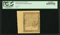 Colonial Notes:Pennsylvania, Pennsylvania April 10, 1777 6d PCGS Gem New 65PPQ.. ...