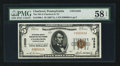 National Bank Notes:Pennsylvania, Charleroi, PA - $5 1929 Ty. 1 The NB of Charleroi & TC Ch. #13585. ...