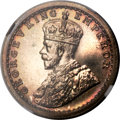 India:British India, India: British India - George V Proof 1/2 Rupee 1911-(c) PR65 NGC,...