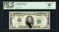 Error Notes:Printed Tears, Fr. 1969-B $5 1969 Federal Reserve Note. PCGS Extremely Fine 40.....