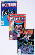Modern Age (1980-Present):Superhero, Wolverine Group of 7 (Marvel, 1982-88) Condition: Average VF/NM....(Total: 7 Comic Books)