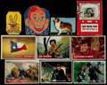 Non-Sport Cards:Lots, 1956-58 Topps Davy Crockett & Zorro Collection (475+) WithOther Non-Sports Cards. ...