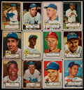 Baseball Cards:Sets, 1952 Topps Baseball Low Series Collection (154) With Stars & HoFers....