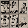 Baseball Cards:Sets, 1953 Bowman Black and White Partial Set (47/64)....
