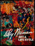 Autographs:Others, LeRoy Neiman Art & Lifestyle Signed First Edition Book....