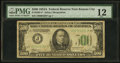 Small Size:Federal Reserve Notes, Fr. 2202-J* $500 1934A Mule Federal Reserve Note. PMG Fine 12.. ...