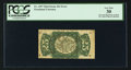 Fractional Currency:Third Issue, Fr. 1297 Milton 3R25.4f 25¢ Third Issue Inverted Surcharge PCGS Very Fine 30.. ...