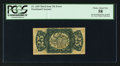 Fractional Currency:Third Issue, Fr. 1295 Milton 3R25.2v 25¢ Third Issue Inverted Surcharge PCGS Choice About New 58.. ...