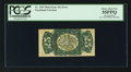 Fractional Currency:Third Issue, Fr. 1295 Milton 3R25.2k 25¢ Third Issue Inverted Back Engraving PCGS Choice About New 55PPQ.. ...