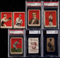 Baseball Cards:Lots, 1911-22 Cracker Jack, S74 & W572 Collection (7)....
