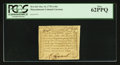 Colonial Notes:Massachusetts, Massachusetts October 16, 1778 1s/6d PCGS New 62PPQ.. ...