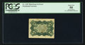 Fractional Currency:Third Issue, Fr. 1239 Milton 3R5.2i 5¢ Third Issue Inverted Back PCGS About New 50.. ...