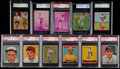 Baseball Cards:Lots, 1933-41 Goudey, Sport Kings, Batter-Up & Play Ball Collection(11)....