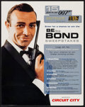 """Movie Posters:James Bond, Be Like Bond Sweepstakes (TBS, 2000). Promotional Contest Poster (22"""" X 28""""). James Bond.. ..."""