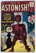 Silver Age (1956-1969):Mystery, Tales to Astonish #7 (Marvel, 1960) Condition: GD....