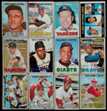 Baseball Cards:Lots, 1967 Topps Baseball Collection (110) With Stars....