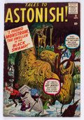 Silver Age (1956-1969):Horror, Tales to Astonish #11 (Marvel, 1960) Condition: VG/FN....