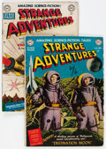 Golden Age (1938-1955):Science Fiction, Strange Adventures #1 and 3 Group (DC, 1950).... (Total: 2 ComicBooks)