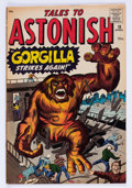 Silver Age (1956-1969):Horror, Tales to Astonish #18 (Marvel, 1961) Condition: FN/VF....