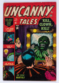 Golden Age (1938-1955):Horror, Uncanny Tales #7 (Atlas, 1953) Condition: FN+....