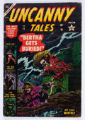 Golden Age (1938-1955):Horror, Uncanny Tales #12 (Atlas, 1953) Condition: VG....