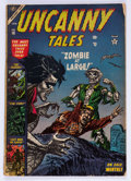 Golden Age (1938-1955):Horror, Uncanny Tales #16 (Atlas, 1954) Condition: FR....