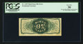 Fractional Currency:Third Issue, Fr. 1339 Milton 3R50.21l 50¢ Third Issue Spinner Type II Inverted Back Engraving and Surcharges PCGS Very Fine 30.. ...