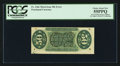 Fractional Currency:Third Issue, Fr. 1366 Milton 3R50.11d 50¢ Third Issue Justice Inverted Surcharges PCGS Choice About New 55PPQ.. ...