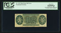 Fractional Currency:Third Issue, Fr. 1333 Milton 3R50.19j 50¢ Third Issue Spinner Inverted Back Engraving and Surcharges PCGS About New 53PPQ.. ...