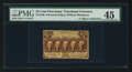 Fractional Currency:First Issue, Fr. 1280 Milton 1R25.2d 25¢ First Issue Inverted Back PMG Choice Extremely Fine 45.. ...