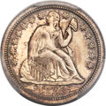 Proof Seated Dimes, 1853 10C Arrows PR64 PCGS....